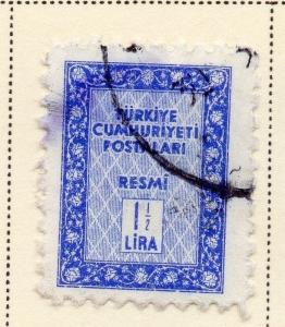 Turkey 1960 Early Issue Fine Used 1.5L. 086043