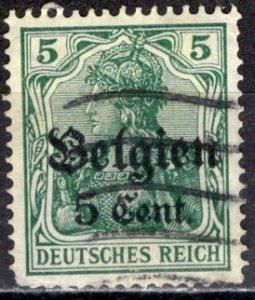 Belgium - German Occupation; 1916: Sc. # N12: O/Used Single Stamp