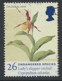 Great Britain SG 2016 Used    - Endangered Species