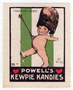 (I.B) US Cinderella : Kewpie Kandies Promo Stamp 1 (Wag The Chief)