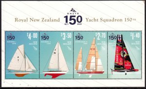 NEW ZEALAND 2021 SHIPS ROYAL YACHT SQUADRON NAVIRES SCHIFFE NAVI [#2103]