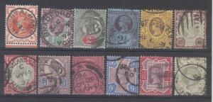 Great Britain Scott 111-22 Used (Catalog Value $264.25)