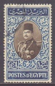 Egypt Scott 269d - SG346, 1947 King Farouk £E1 used