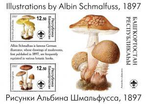BASHKIRIA RUSSIA LOCAL SHEET MUSHROOMS