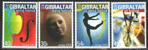 Gibraltar. 2003. 1032-35. Creativity, Europe-Sept. MNH.