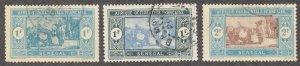 Senegal - 1922-24 - SC 113-14,120 - Used