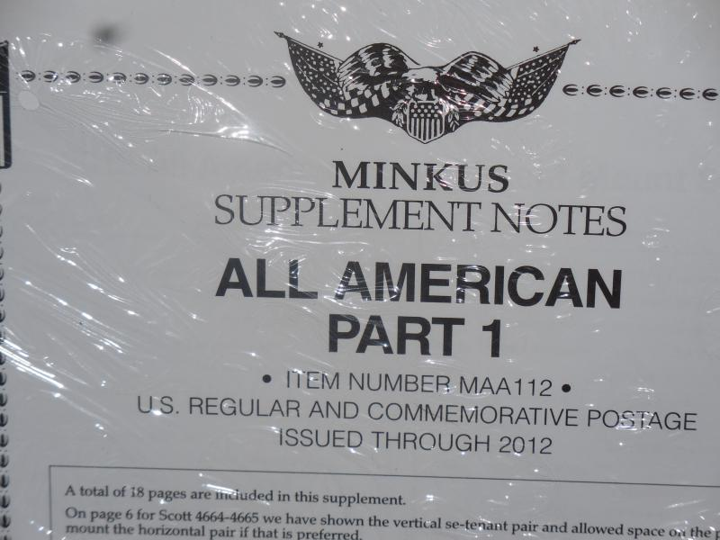 Minkus All-American part one 2012 new.