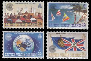 Virgin Islands 442 - 445 MNH