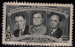 Honduras  Scott C175 Used airmail stamp