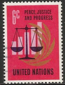 United Nations, New York 1970 Scott# 213 Used
