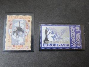 Georgia 2001 Sc 275,314 Bird MNH
