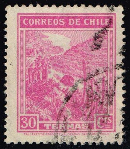 Chile #202 Mineral Spas; Used (0.25)