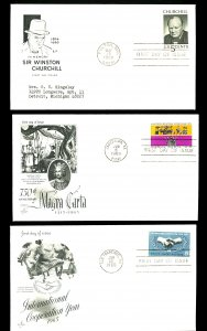 U.S. #1264, 1265 FIRST DAY COVERS