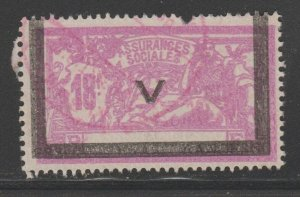 France and Colonies revenue Fiscal stamp 11-9-20 as seen perfs