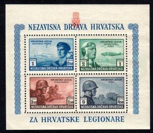 Croatia Scott B37 Mint never hinged.
