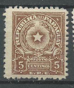 Paraguay  Scott # 498 - MH