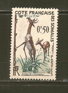 Somali Coast Gazelle 0.50FR Mint Hinged
