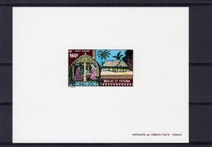 Wallis and Futuna Islands 1978 Sc#C83 Christmas (1) DELUXE SS  MNH VF