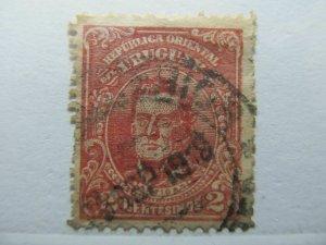 Uruguay 1912-15 2c fine used A4P35F104
