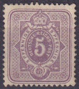 Germany #30  Unused CV $97.50 (Z4486)