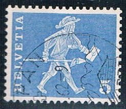 Switzerland postman - pickastamp (SP23R801)