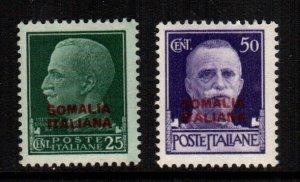 Somalia  136 - 137  MNH cat $ 46.00