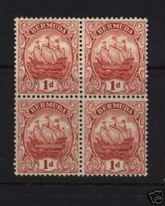 Bermuda #83a Mint Block