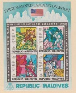 Maldive Islands Scott #301a Stamp - Mint NH Souvenir Sheet