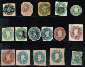 US CUT SQ STAMPS USED AND & MINT STAMPS COLLECTION LOT  #2