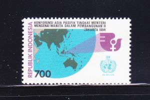 Indonesia 1576 Set MNH Ministerial Conference On Women