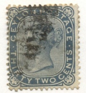 CEYLON #69, Used, $16.00