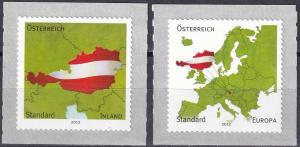 Austria #2384-5  MNH  CV $3.35 (A19025)