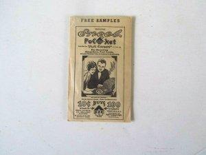 Engel Art Corners Cover/Post Card Mounting (empty) Pkg. 1972, VF, Nostalgic