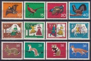 Germany #B404-11, B422-5  MNH CV $3.80 (Z4655)
