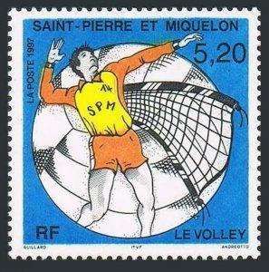 St Pierre & Miquelon 638,MNH.Michel 725. Volleyball,1997.