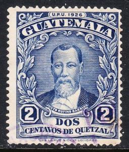 Guatemala 235 - FVF used