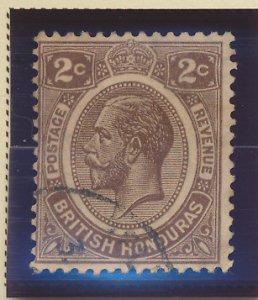 British Honduras Stamp Scott #93, Used