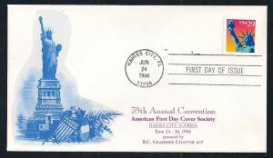 UNITED STATES FDC 29¢ Liberty 1994 Graebner