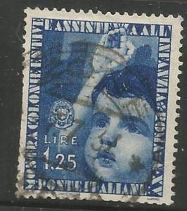 ITALY, 373, U, CHILD SALUTE