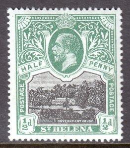 St. Helena - Scott #61 - MH - SCV $3.25