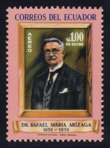 Ecuador #C324 Rafael Maria Arizaga, Unused (0.45)