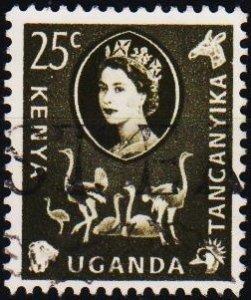 K.U.T. 1960 25c S.G.187 Fine Used