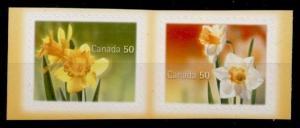 Canada 2093b MNH Flowers, Daffodils, Narcissus