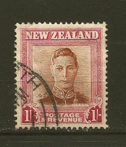 New Zealand 265 King George VI Used