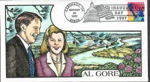 US Collins FDC SC#3122 Al Gore