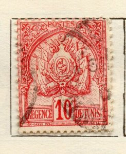 Tunis 1901 Early Issue Fine Used 10c. NW-114588