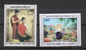 Laos C62-C63 MNH