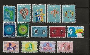 Nether. Antilles 1969 issues  MNH-MH