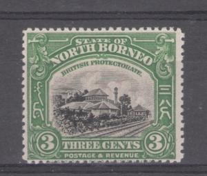 North Borneo 1922 Railroad Station Scott # 139 MH