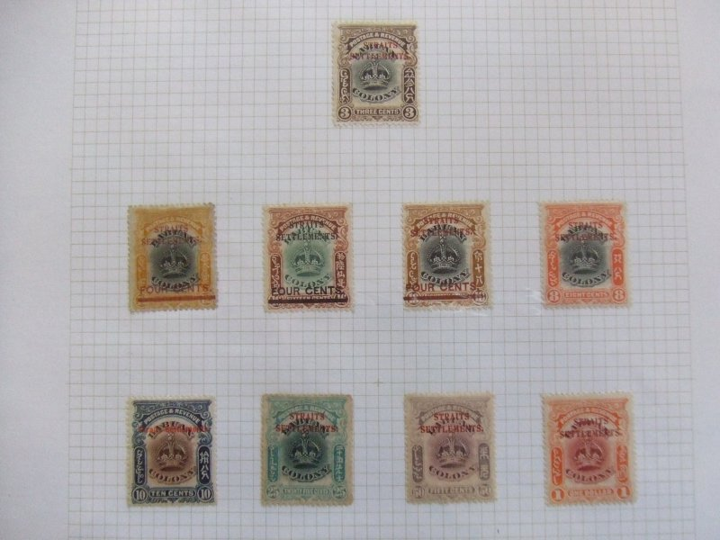 Straits EVII 1907 Labuan mint overprints to $1